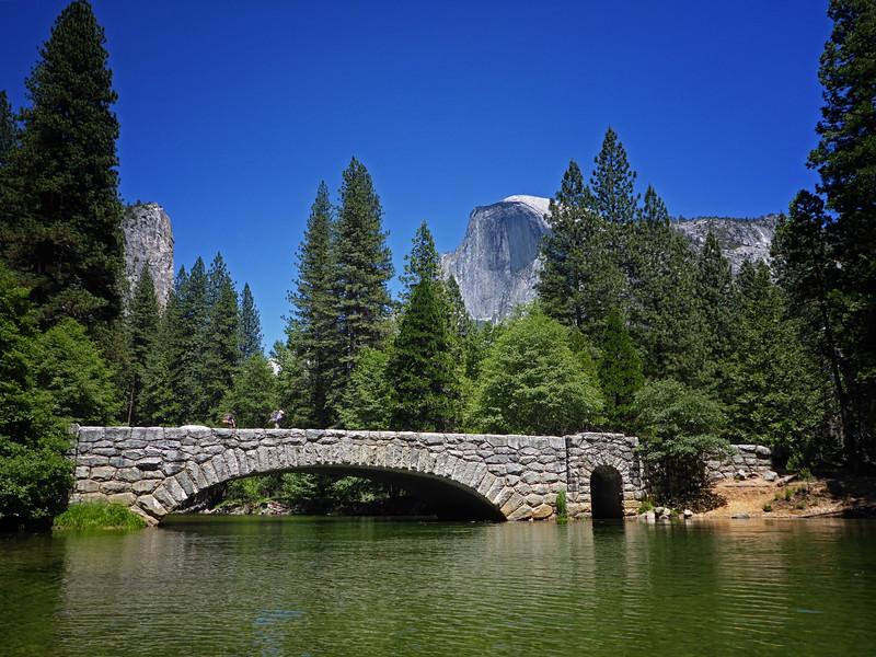Yosemite stone bridge and half dome P1010395.jpg