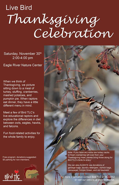 2013 Live Bird Thanksgiving Celebration