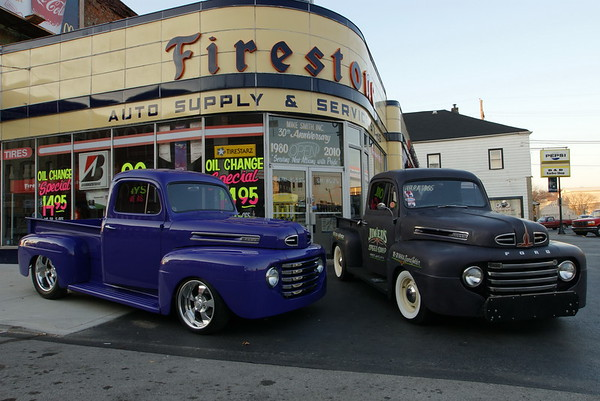 48 Ford F100s