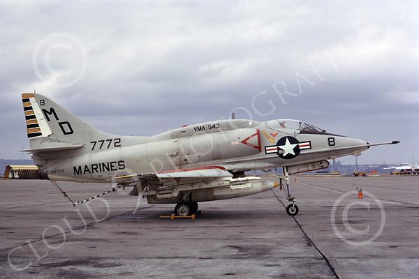 U.S. Marine Corps Jet Attack Squadron VMA-543 Knight Hawks Airplane Pictures