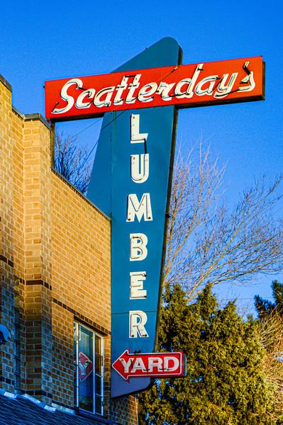Scatterday's Lumber Yard