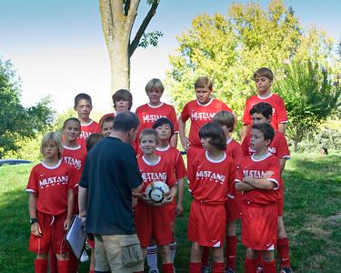 Mustang Soccer 2010 Team Flash Team Shots