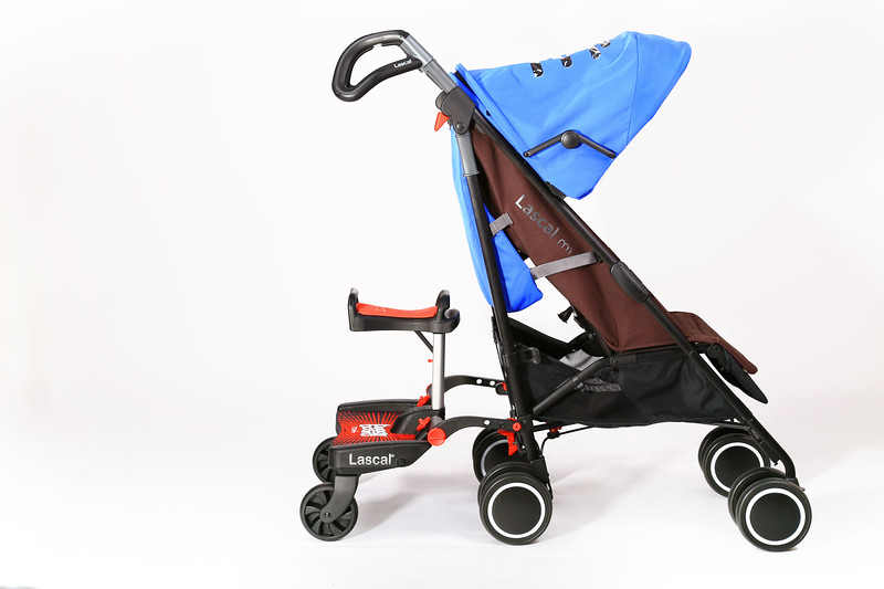 Lascal_Buggyboard_Saddle_Red_Product_Shot_Saddle_On_Pushchair.jpg