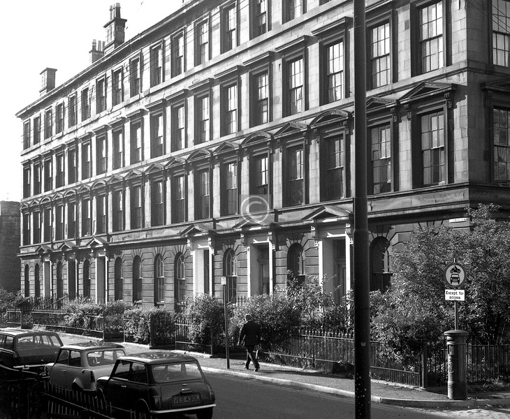 Hill St., north side west of Garnethill St.  August 1974