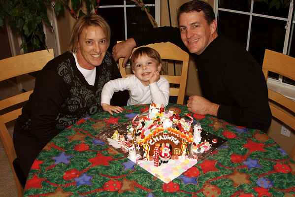 2007 - Gingerbread Houses