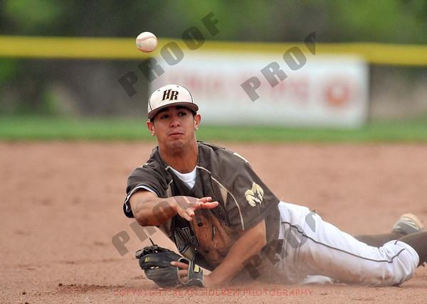 Varsity Baseball - Holt at Okemos - May 17