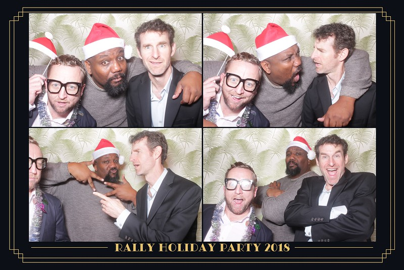 Rally Holiday Party (GIF Booth)