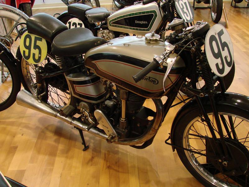 1939 Norton Manx 500cc racer