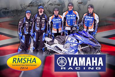 2014 Team Yamaha Poster