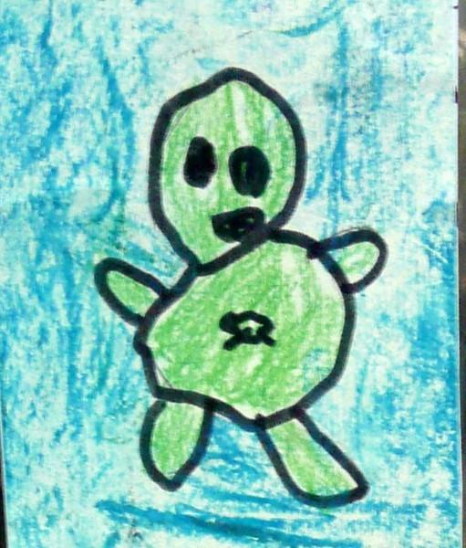 Green Man Traveller
