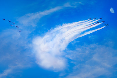 Blue Angels - Thunderbirds Flyover DC - May 2020