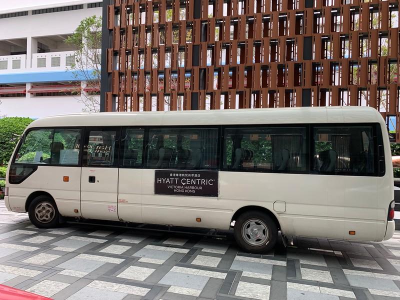 Hyatt Centric Hotel Bus