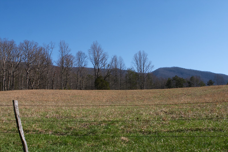It's an incredibly pretty pocket of lush farmland tucked in the mountains