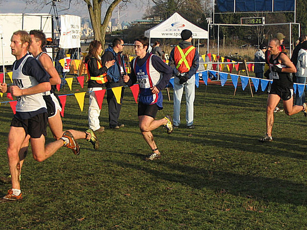 2005 Canadian XC Championships - Merm and Swanny move past Milne