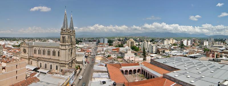 Salta city, North Argentina