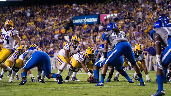 Kentucky @ LSU (10/18/14)