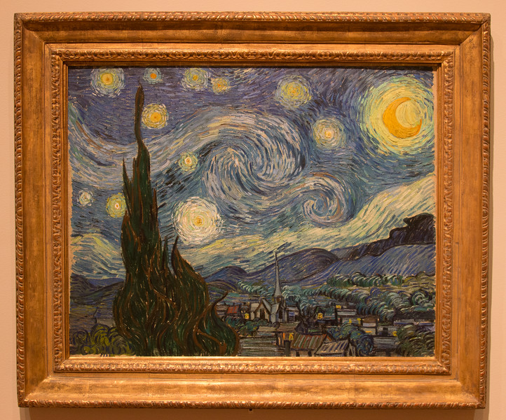 Vincent van Gogh, Starry Night (1889) -- Museum of Modern Art (MoMA), New York
