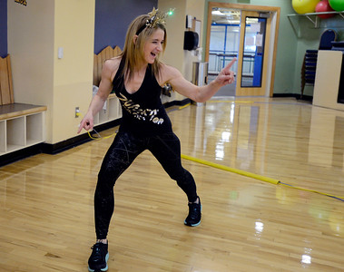 Photos: New Year's Day Remote Zumba Class