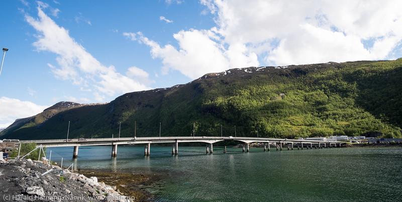 Beisfjordbrua, 15. juni 2016.