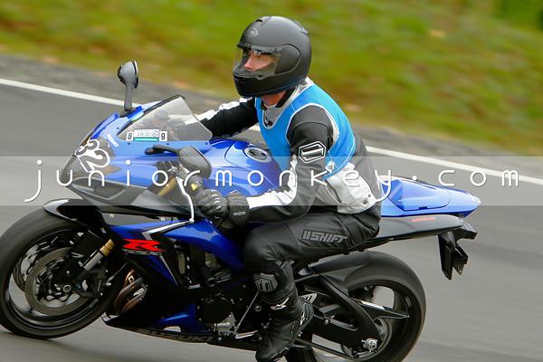 #32 - Black Blue GSXR