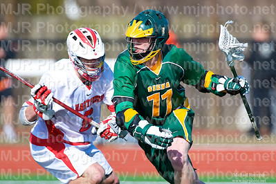Lacrosse, Boys College 09, Siena Vs Hartford, 03-21-09