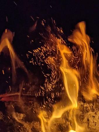 Calor del fuego