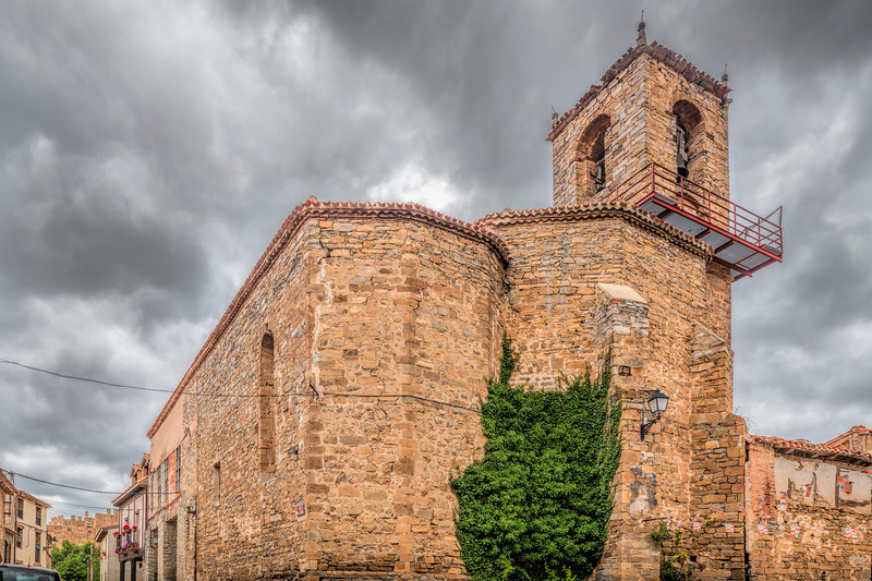 Parish church, Yanguas, Soria, Spain