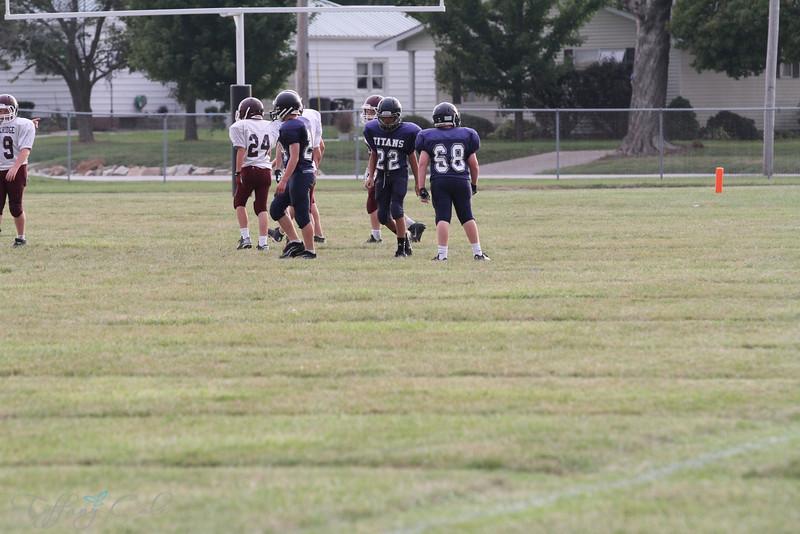 7th Grade Football vs Rockridge