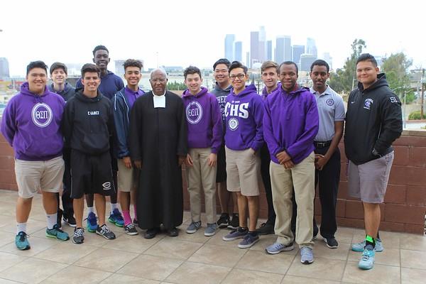 Br. Ghebreyesus Visits Cathedral