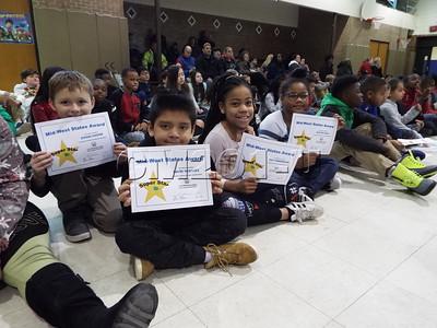 First Trimester Award Assembly Grades 3-5