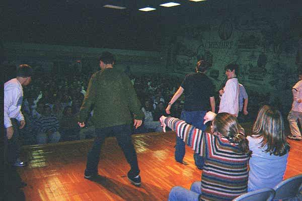 Dodd Middle School... February 9, 1999