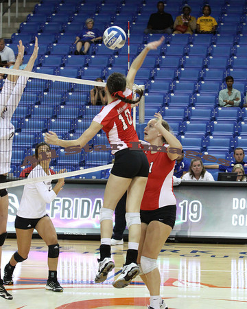 Marist Volleyball vs NW State - 2012