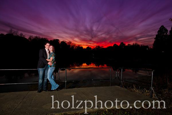 Color Engagement Photos