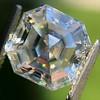 3.30ct Vintage Asscher Cit Diamond GIA J VS1 27