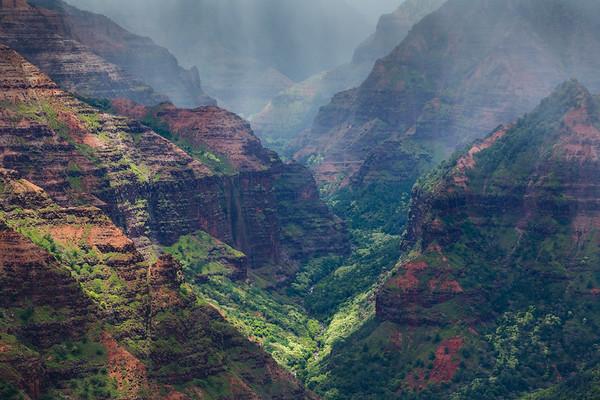 Wiemea Canyon, Kauai, Hawaii