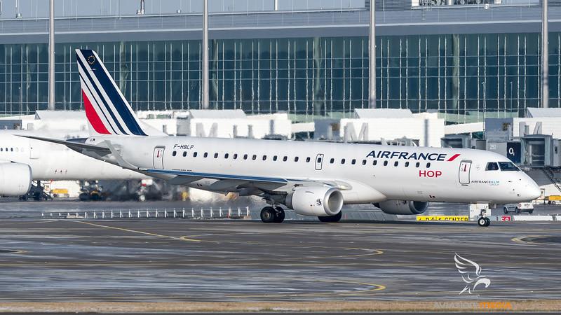 Air France HOP / Embraer ERJ-190STD / F-HBLP