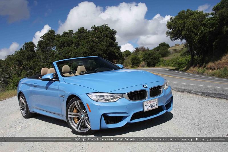 BMW M4 convertible.