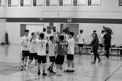 2018 Lowell boys volleyball