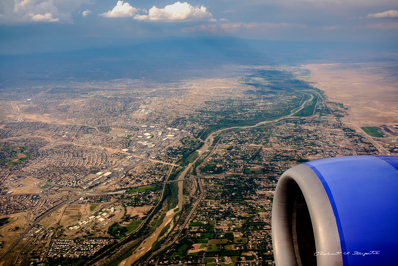 The West Mesa of Albuquerque and the Rio Grande Valley
