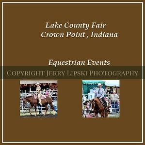 Lake County Fair - Western Horse Show