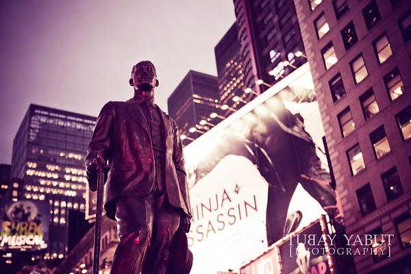 New York City (retrograded)