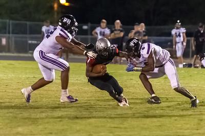 2019-10-04 Butler High School Football VS Porter Ridge