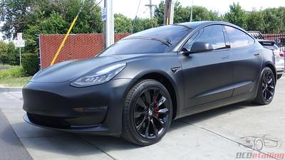 Tesla Model 3 - Solid Black - XPEL Stealth