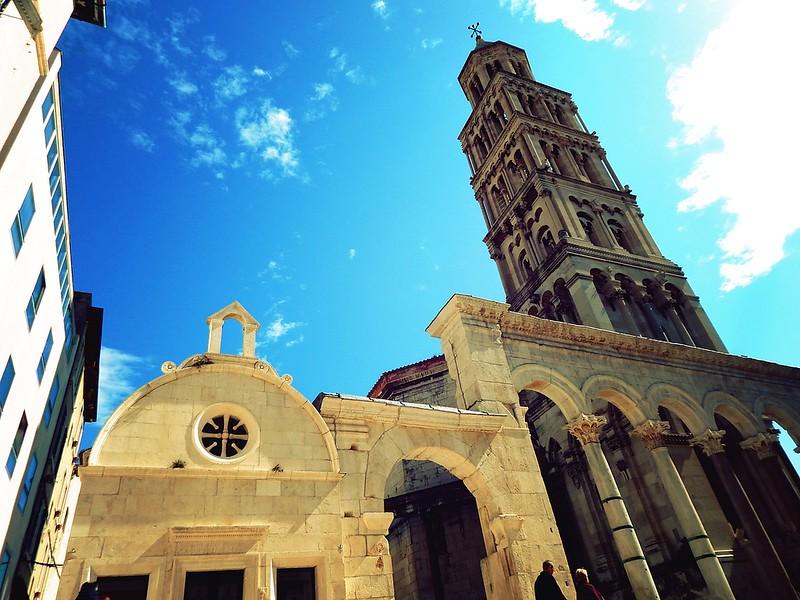 The Diocletian Palace in Split, Croatia
