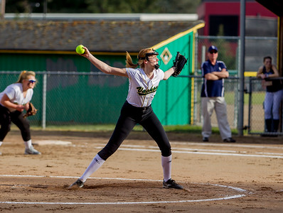 Vashon Island High School Fastpitch v Rainier Christian 03/12/2018