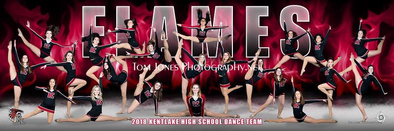 2018 Kentlake Dance Team