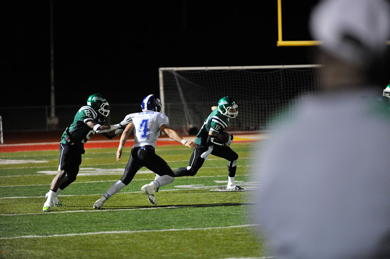 El Cerrito High Schools versus Analy High School. The Gauchos would win 40-20. Nov. 23, 2012. Photo by Ian Billings
