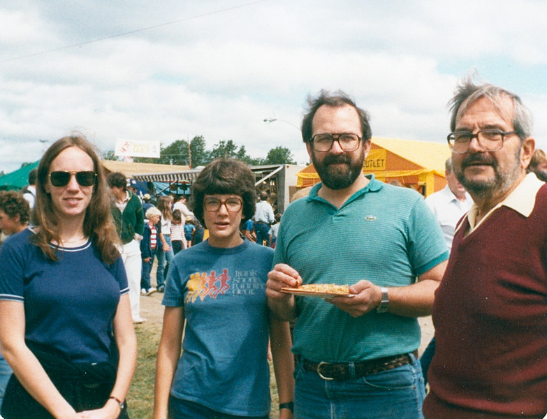 1983? Ernie, John, Chris & Bonnie Goshen Fair.jpg