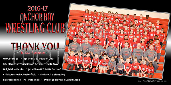 2016-17 ANCHOR BAY WRESTLING CLUB