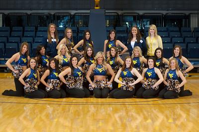 27933 WVU Cheer Dance Team Pictures October 2011
